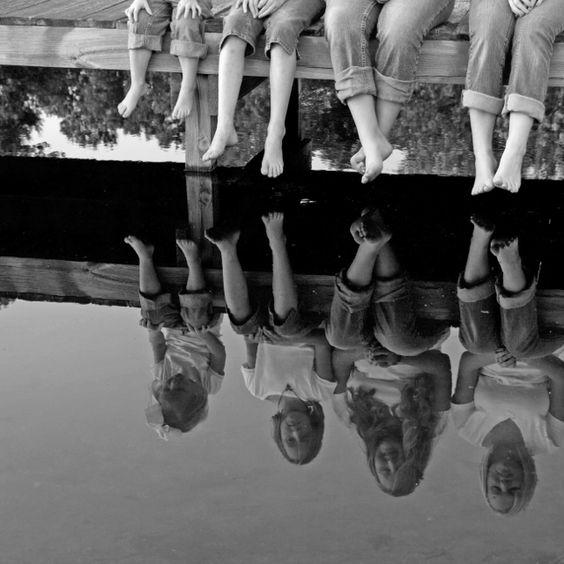 Wie cool, der Blick nur auf die Reflexion! (Quelle: Pinterest)