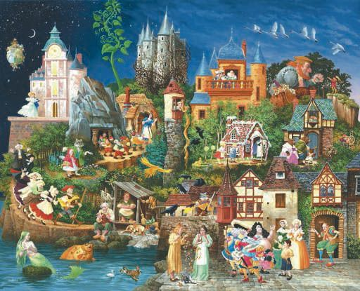 Fairy Tales-James Christensen Awesome for a kids play room