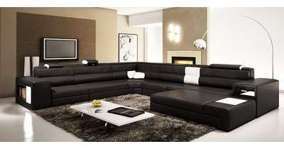 Hokku Designs Camden 167 Right Hand Facing Sectional With Ottoman Wayfair Contemporary Living Room Furniture Contemporary Sectional Sofa Italian Leather Sectional Sofa