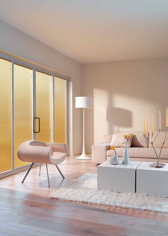 Luxaflex Aluminium Venetian Blinds are simple and stylish, providing a timeless design that suits many decorating styles.