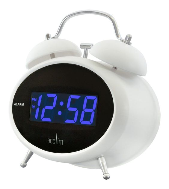 acctim dexter blue jumbo led mains retro style digital alarm clock our ref350 view more on. Black Bedroom Furniture Sets. Home Design Ideas