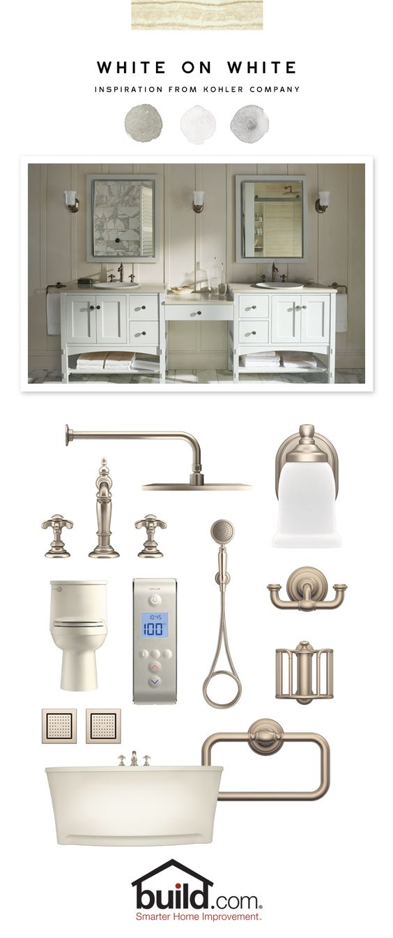 Kitchen colors vanities and side by side on pinterest for Design your own bathroom