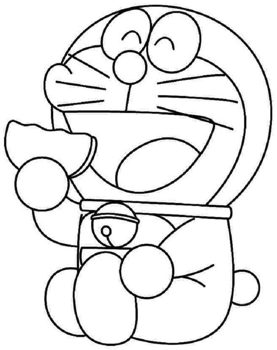 Doraemon Coloring Pages Printable Coloringpagesforkids
