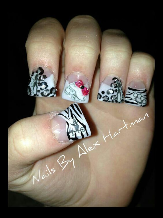 metal mulisha nails | id rock it | Pinterest