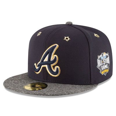 Atlanta Braves New Era 2016 MLB All-Star Game Patch 59FIFTY Fitted Hat…