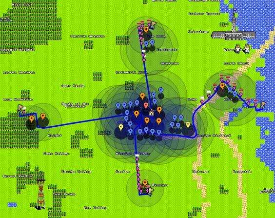 Tower Defense on 8-Bit Maps
