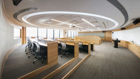Yale Center Beijing - in Beijing, China  #education #commercialspaces #commercialinteriors #design #flooring