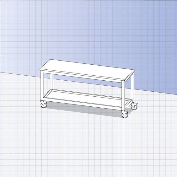 mesa para BIOMBO atrás