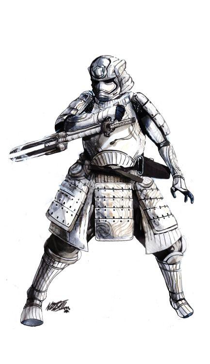 Samurai Stormtrooper #starwars