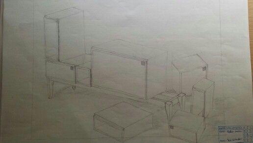 Muebles a lapiz