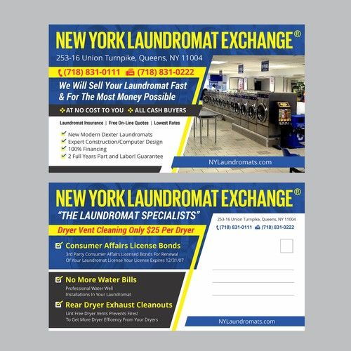 New York Laundromat Exchange Postcard Postcard Flyer Or Print