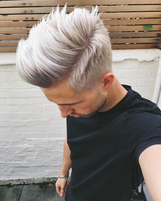 Färben graue mann haare Haare färben