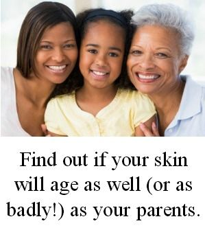 On today's blog: How will your skin age?