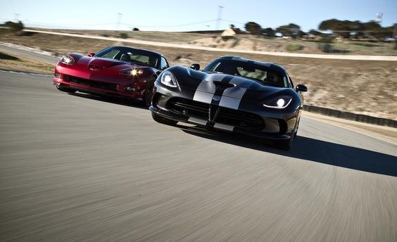 Activate Beast Mode: Viper vs. ZR1 at the Track! - Photo Gallery of Comparison Tests from Car and Driver - Car Images - Car and Driver