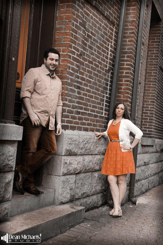 Lauren & Giancarlo's April 2014 #engagement shoot in Hoboken, NJ! (photo by deanmichaelstudio.com) #njengagement #engaged #happycouple #happiness #love #spring #photography #deanmichaelstudio