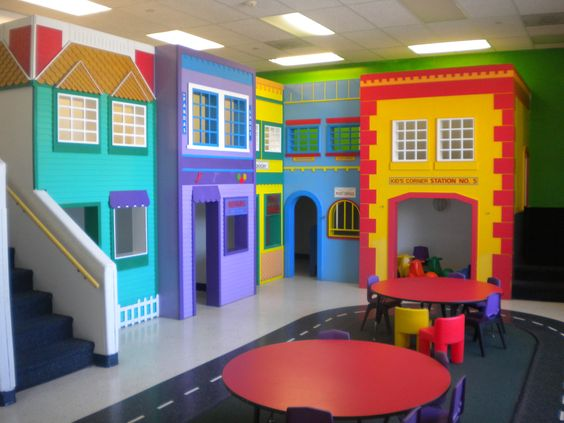 Foyer Ideas For Childcare : Beautiful preschool child care day center for