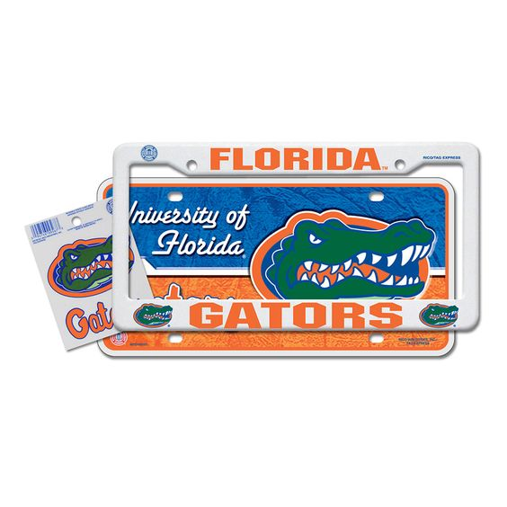 Florida Gators NCAA 3 Piece Auto Value Pack