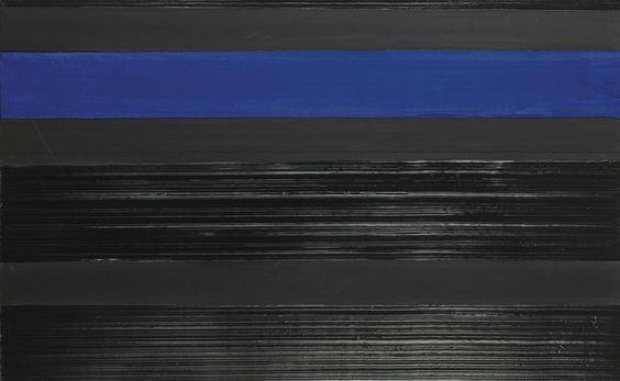 Pierre Soulages (N. 1919) - Peinture 81 x 130 cm