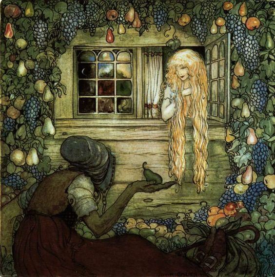 Another beautiful illustration by John Bauer.