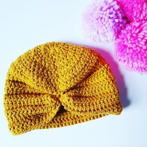 FREE PATTERN Baby Turban Size 0 – 6 months | Crochet Ever After…