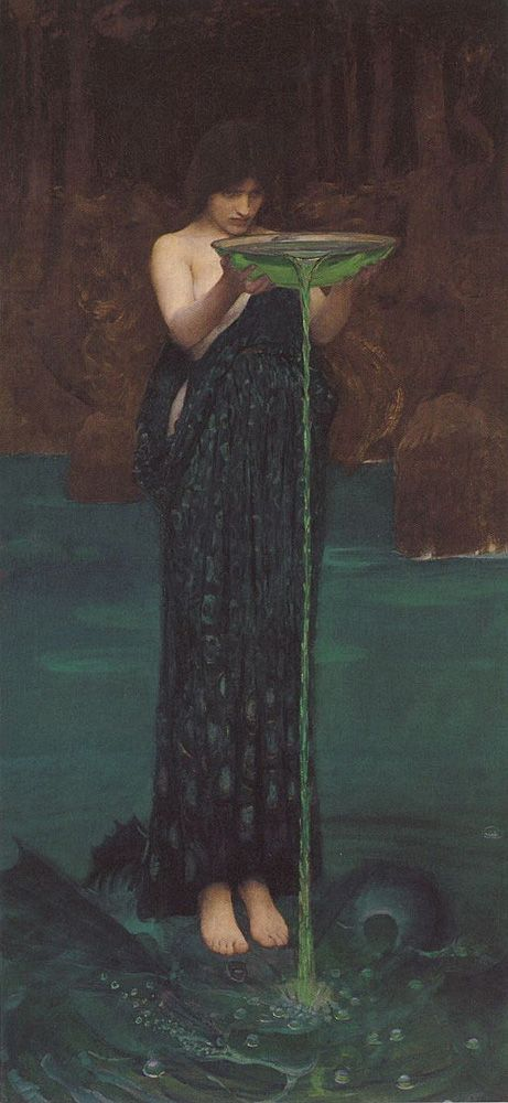 Circë Invidiosa - John William Waterhouse, 1892