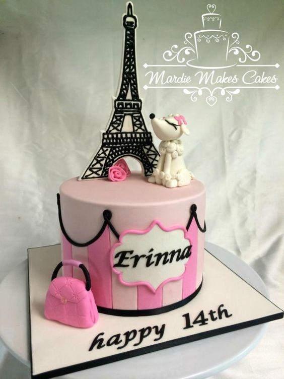 Little Paris Cake pastel de quince