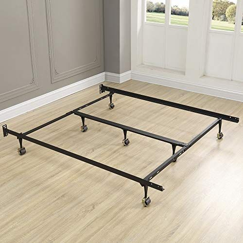 Nova Natural King Size Bed Frame Universal Heavy Duty Metal Bed
