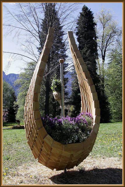 Breathtaking Pallet Planters design  #Design, #Pallets, #Planter