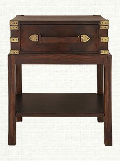 """Wynston 20"""" Rectangle Trunk End Table"""