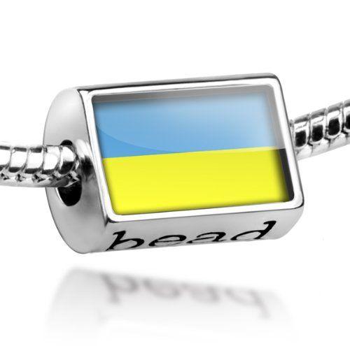 Beads Quot Ukraine Flag Quot Pandora Charm Amp Bracelet Compatible European Charm Beads Bead Charm Bracelet Charms And Charm Bracelets