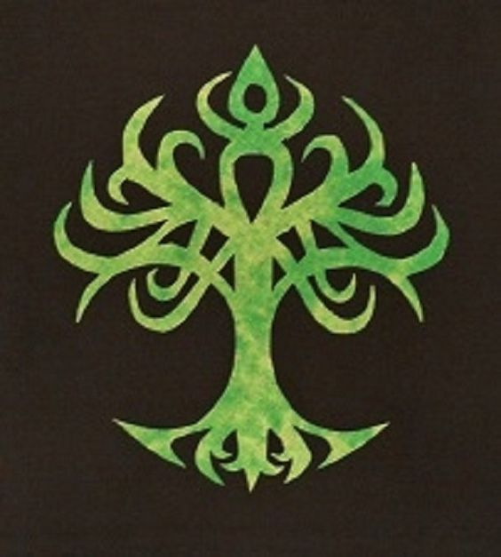 Easy Celtic Tree Of Life Quilt Applique Pattern Design ...