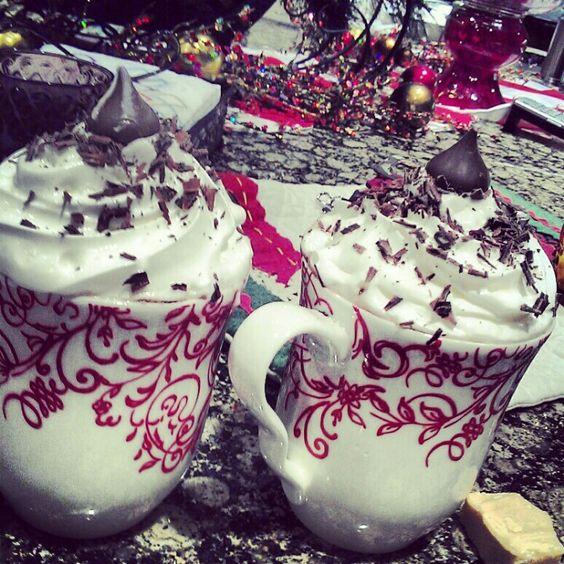 I am the master at making hot chocolate!