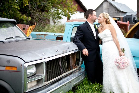 www.cwillsphotography.com , rustic country wedding, bride and groom pose, classic cars, bride and groom with car, edmonton wedding photographer, edmonton wedding photography
