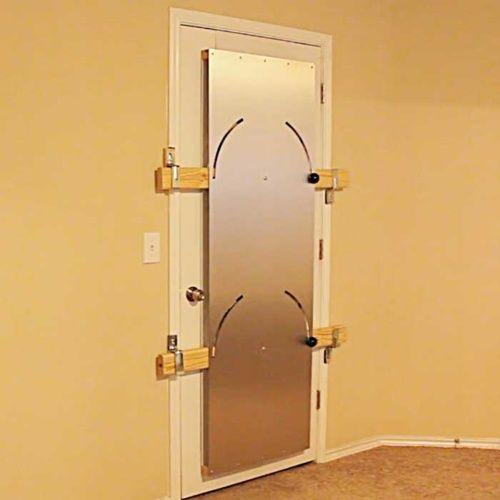 This Door Locking Device Stops Intruders Havenshield Door Barricade Thesuperboo Door Lock Security Door Locks Diy Home Security