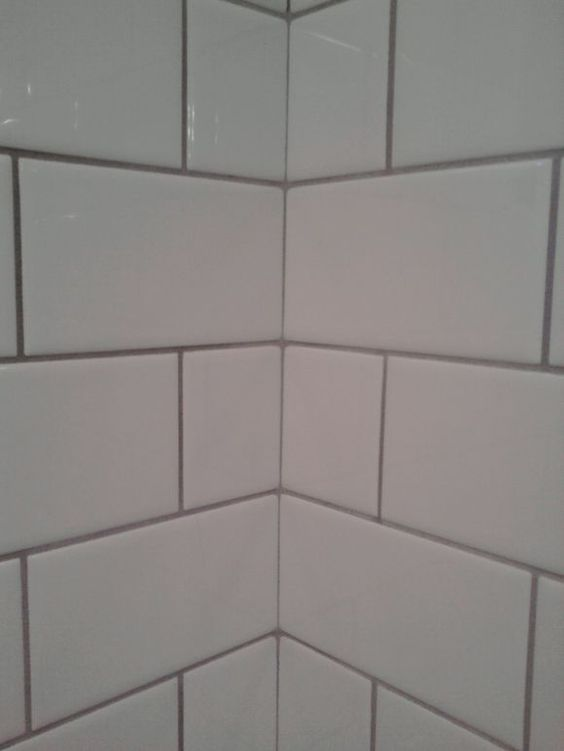 White Subway Tile With Light Grey Grout Kitchens Pinterest Grey Grout Grey And Grout
