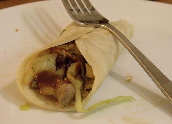 Moo-Shu Pork with with Hoisin Sauce