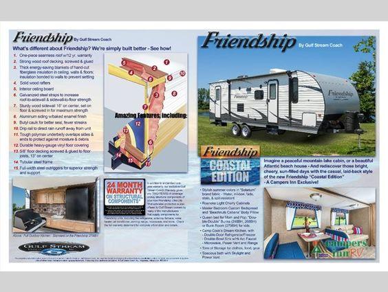 New 2017 Gulf Stream RV Friendship 279BH Travel Trailer at Campers Inn | Selma…