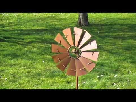 Ws490 Windspel Windmolen Robanjer Tuindecoratie Youtube Windmolens Decoraties
