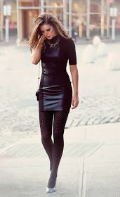 Women In Short Leather Skirts
