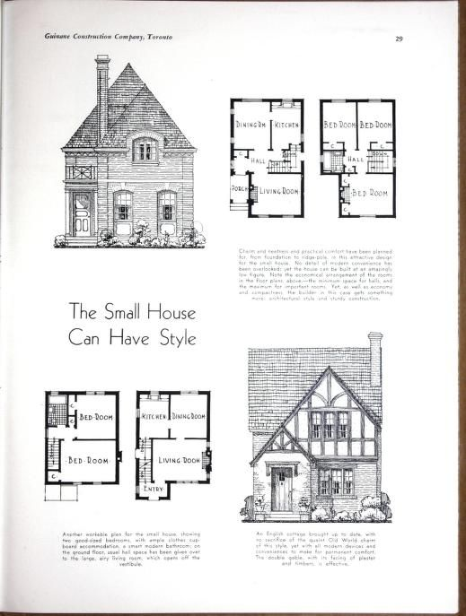 Planning Building Financing The Home Vintage House Plans Cottage Floor Plans Architectural Floor Plans