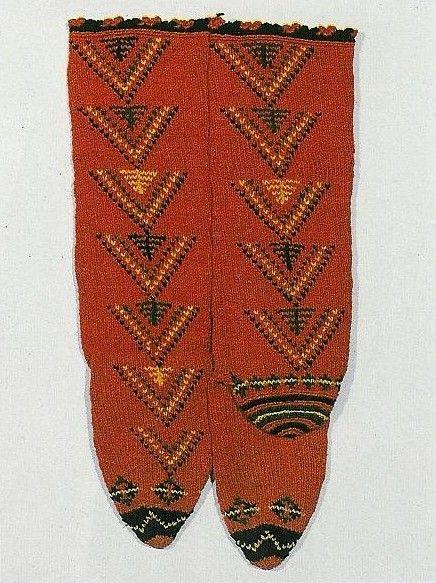 Дамски чорапи, 20-ти век, област Девин: