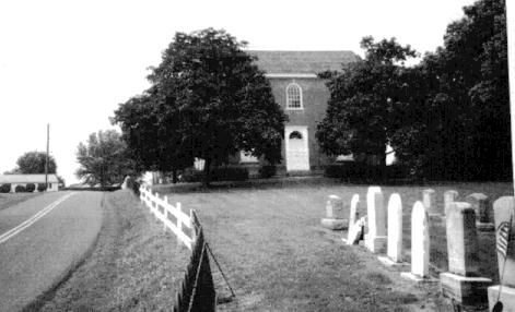 Old Zion Reformed Church and Cemetery at Brickerville.Pa.