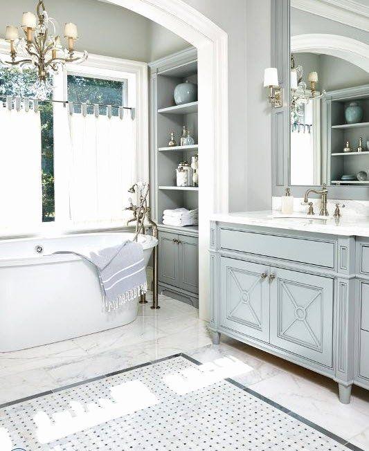 19 Blue And Gray Bathroom Ideas In 2020 Bathroom Design Luxury Basement Bathroom Remodeling Hampton Style Bathrooms