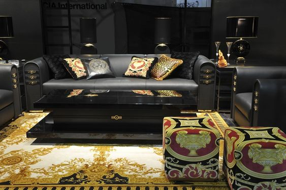 Slipcovers For Sofas Versace Home Collection image Versace VIA GESU collection Luxury Living Lifestyle Pinterest Versace Modern living rooms and Modern