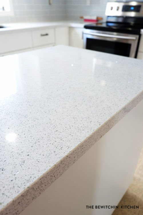 Image Result For White Sparkle Quartz Countertops With