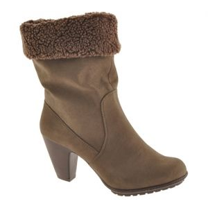 Mootsies Tootsies Lydicris High Heel Boots Womens Brown Polyurethane - Was $69.90 - SAVE $28.00. BUY Now - ONLY $41.45.
