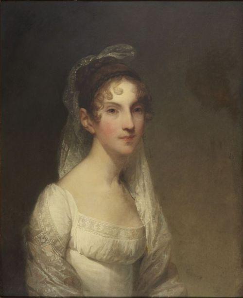 c.1808-1809 Gilbert Stuart - Mary Harrison Eliot