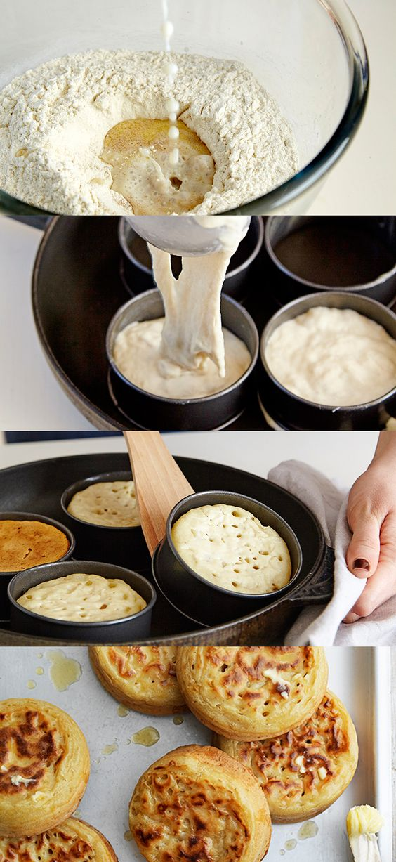 Ever tried making your own crumpets? They're easier than you may think, try the Waitrose recipe and enjoy with melted butter for a scrumptious breakfast.