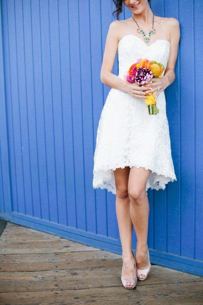 Colorful Santa Monica Pier Wedding Inspiration | Pinterest ...