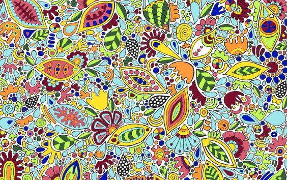 Colores definitivos para el bolso bordado